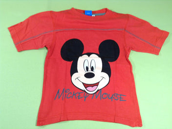 T-shirt m.c rouge Mickey