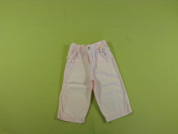 Pantalon rose pâle