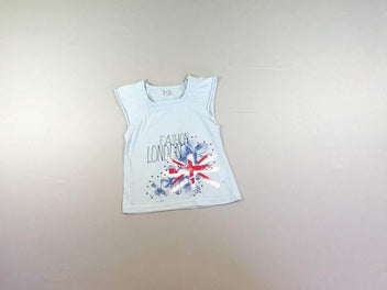 T-shirt m.c bleu London