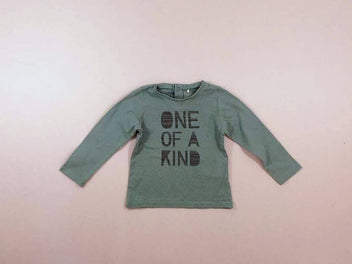 T-shirt m.l vert « One of a kind »