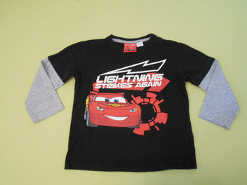 T-shirt m.l noir Cars