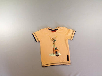 T-shirt m.c orange Wickie