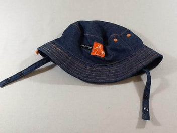 Chapeau denim plage