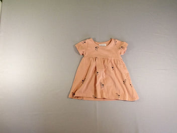 Robe m.c jersey saumon flamants roses, Flamingo, Little Indians
