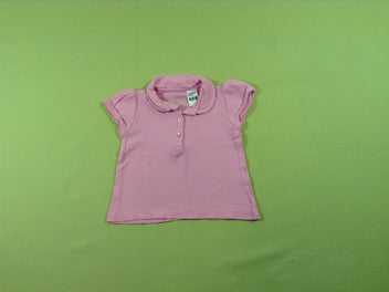Polo m.c jersey rose