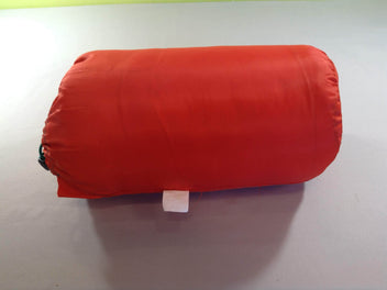 Sac de couchage rouge/vert Forclaz junior 10°, 140cm max