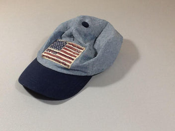 Casquette denim New York