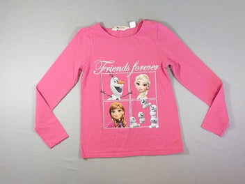 T-shirt m.l rose Reine des Neiges