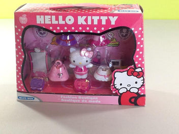 NEUF figurine Hello Kitty Fashion boutique, +3a