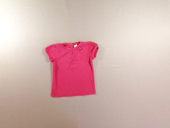 T-shirt m.c rose noeud