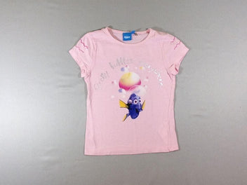 T-shirt m.c rose flammé Dory