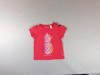 T-shirt m.c rose ananas