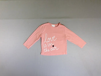 T-shirt m.l rose Love is in the air