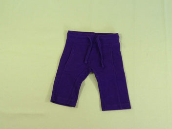 Pantalon training molleton mauve