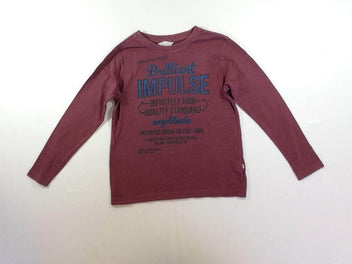 T-shirt m.l bordeaux « Brilliant Impulse »