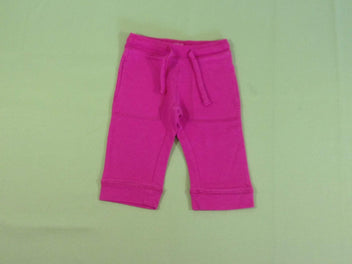 Pantalon training molleton rose vif
