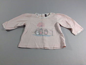 T-shirt m.l rose pâle Igloo