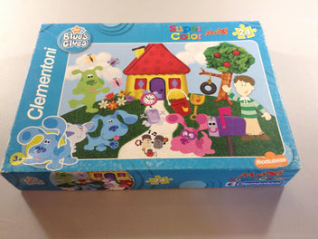 Puzzle maxi Blue's clues, Super Color, 24pcs, +3a