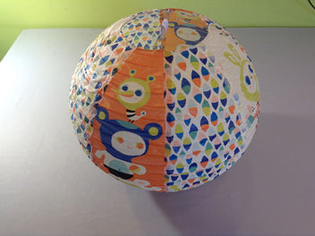 Suspension boule en papier