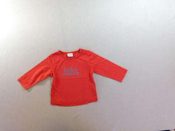 T-shirt m.l rouge Little crapule