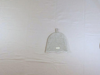 Bonnet jersey gris chiné, Medium (43-46cm)