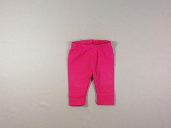 Legging molleton rose vif
