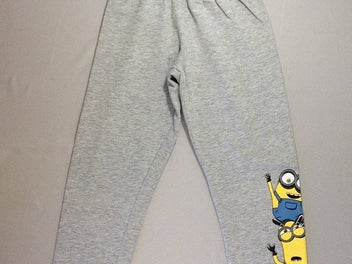 Pantalon training gris chiné Minions