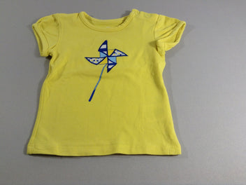 T-shirt m.c jaune moulin