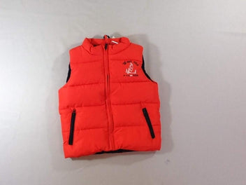 NEUF Body warmer rouge doublé polar