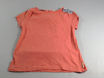 T-shirt m.c orange noeud