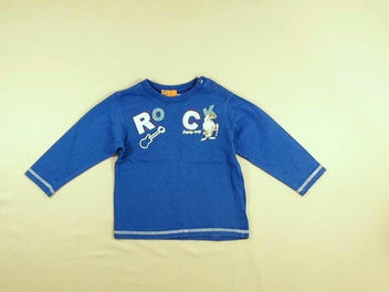 T-shirt m.l bleu Rock