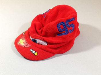 Bonnet casquette polar rouge Cars
