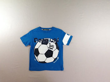 T-shirt m.c bleu ballon foot