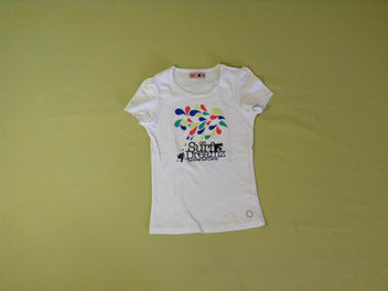 T-shirt m.c blanc Surf Dream'z