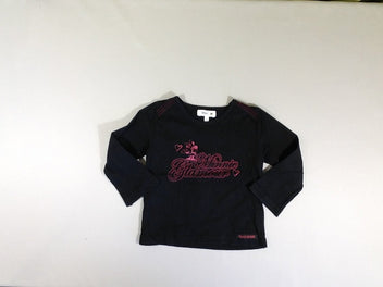 T-shirt m.l noir Minnies disney