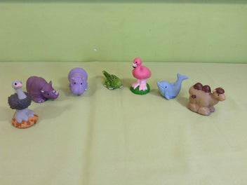 Lot de 7 animaux Little People