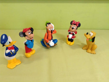 Lot de 5 personnages Disney