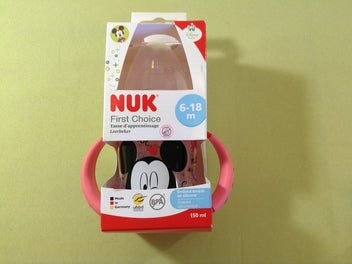 NEUF Tasse d'apprentissage First Choice Mickey, 6-18m 150ml