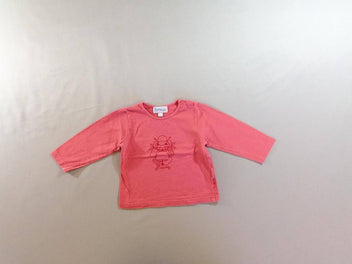 T-shirt m.l rose fille