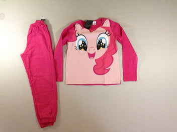 Pyjama 2pcs jersey rose Little Pony