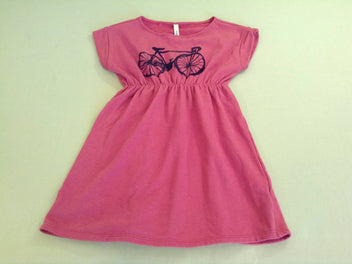 Robe m.c molleton terracotta vélo, Bobo choses
