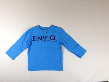 T-shirt m.l bleu Benetton