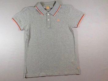 Polo m.c gris chiné