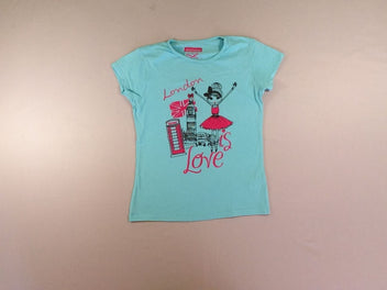 T-shirt m.c turquoise London