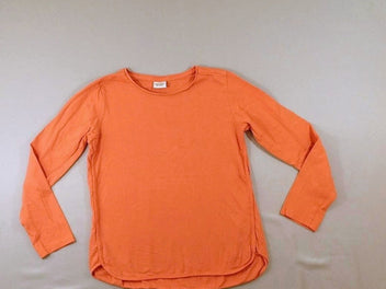 T-shirt m.l orange flammé