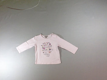 T-shirt m.l rose forest