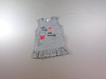 Robe s.m jersey gris chiné Winnie