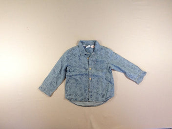 Chemise m.l denim Mickey, Disney