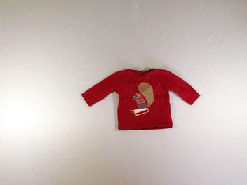 T-shirt m.l rouge luge