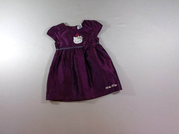 Robe m.c satinée violet Hello Kitty